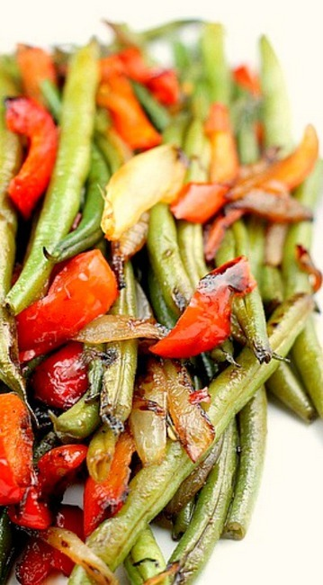 Asian Style Green Beans