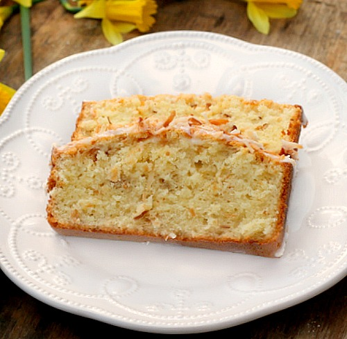 Buttermilk Coconut Pound Cake - Bunny's Warm Oven