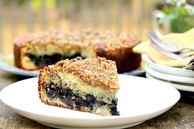 Blueberry Lovers Coffee Cake