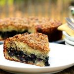 Blueberry Lovers Walnut Coffee Cake