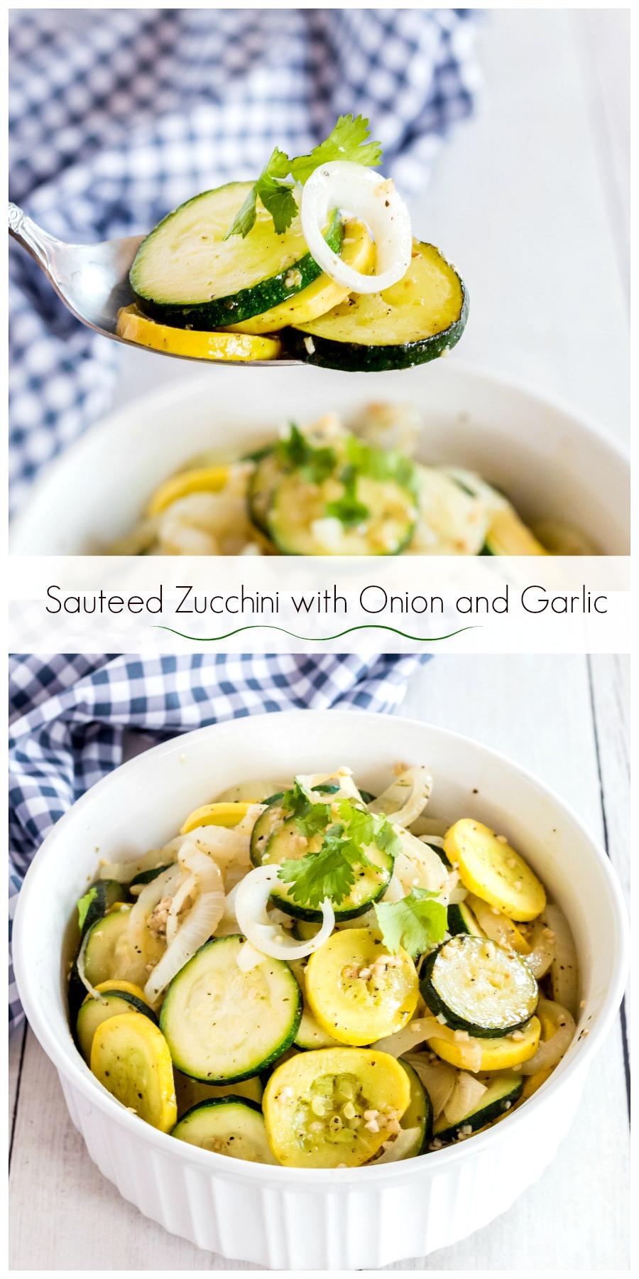 Zucchini with Onion and Garlic