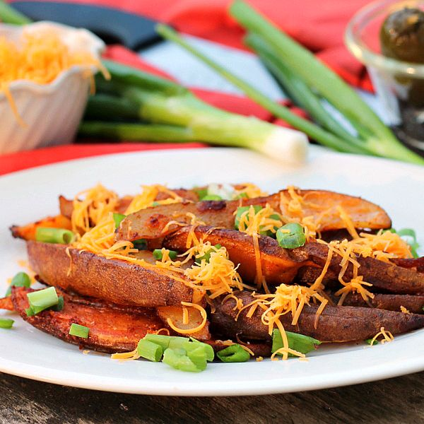 Taco Potato Wedges