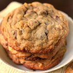 Chocolate Chip Toffee Walnut Cookies