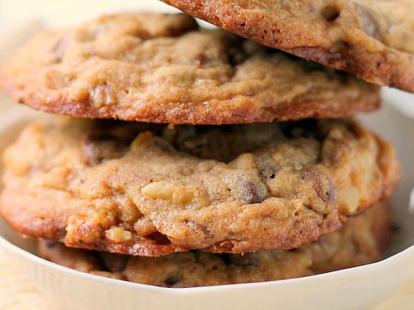 chocolate chip toffee