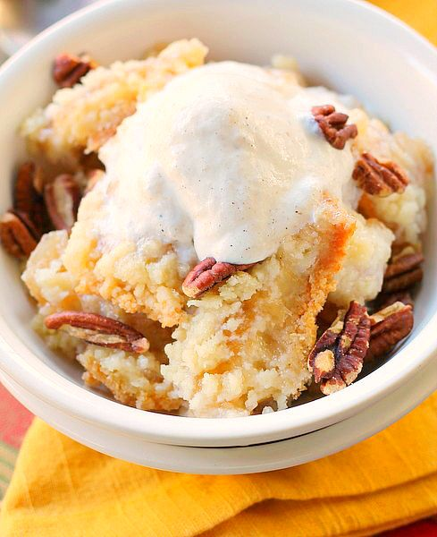 Sugar Cookie Apple Crisp