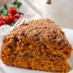 Pumpkin Streusel Coffee Cake