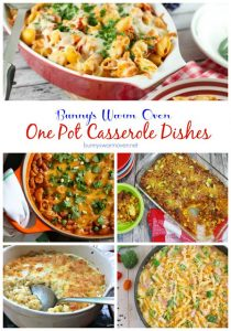 21 One Pot Casserole Dishes