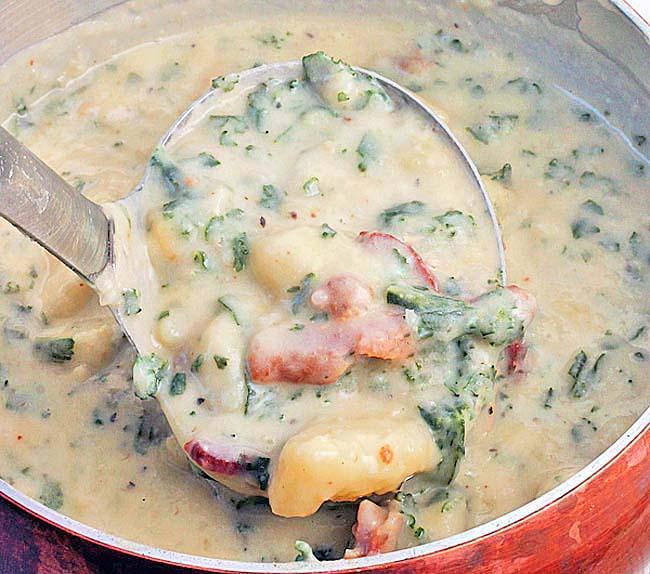The Best Potato Soup