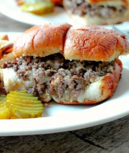 Cheeseburger Slider