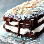 Almond Joy Chocolate Torte