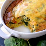 Spinach Egg Bake