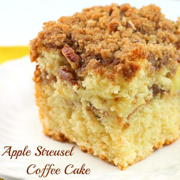 Apple Streusel Coffee Cake