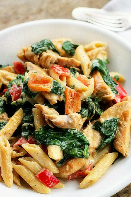 Cheesy Chicken and Pasta