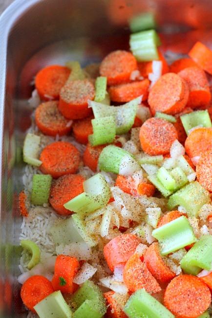 Chicken Rice Pilaf Casserole