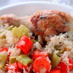Chicken Risotto Casserole
