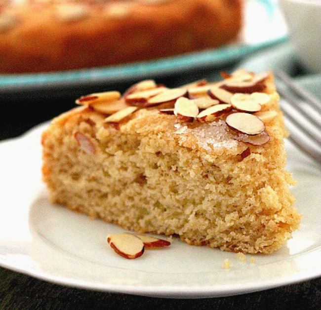 Almond Butter Yeast Cake