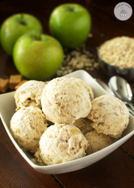 Apple Crisp Ice Cream