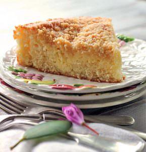 Lemon Cream Coffee Cake