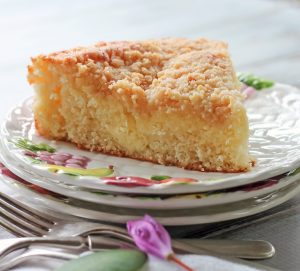 Lemon Cream Coffee Cake