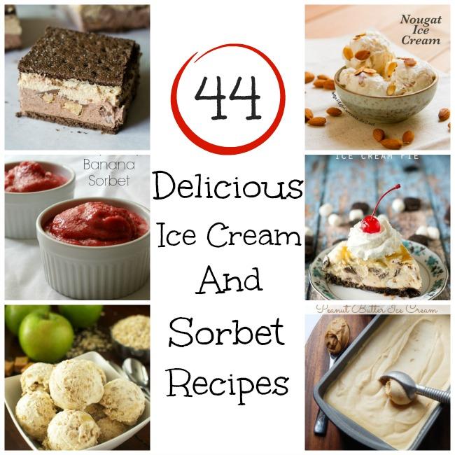 44 Delicious Ice Cream and Sorbet Recipes