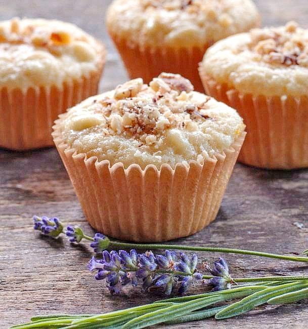 lemon cheese muffins