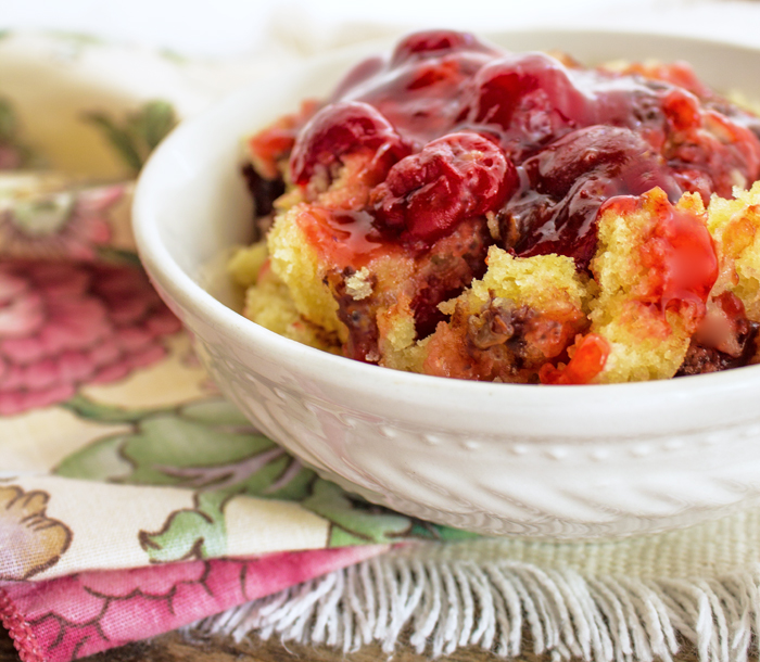 crock pot cherry pudding cake