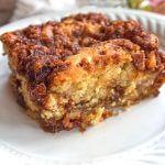Apple Sour Cream Cake