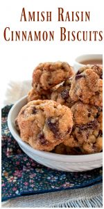 Mini Cinnamon Raisin Biscuits