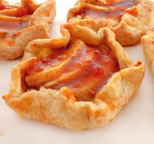 Apple Apricot Mini Tarts