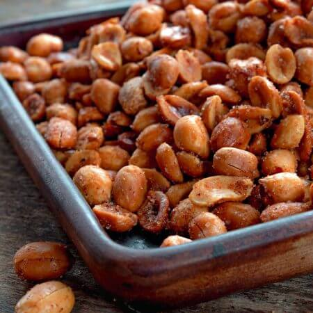 Spiced Peanut Snack