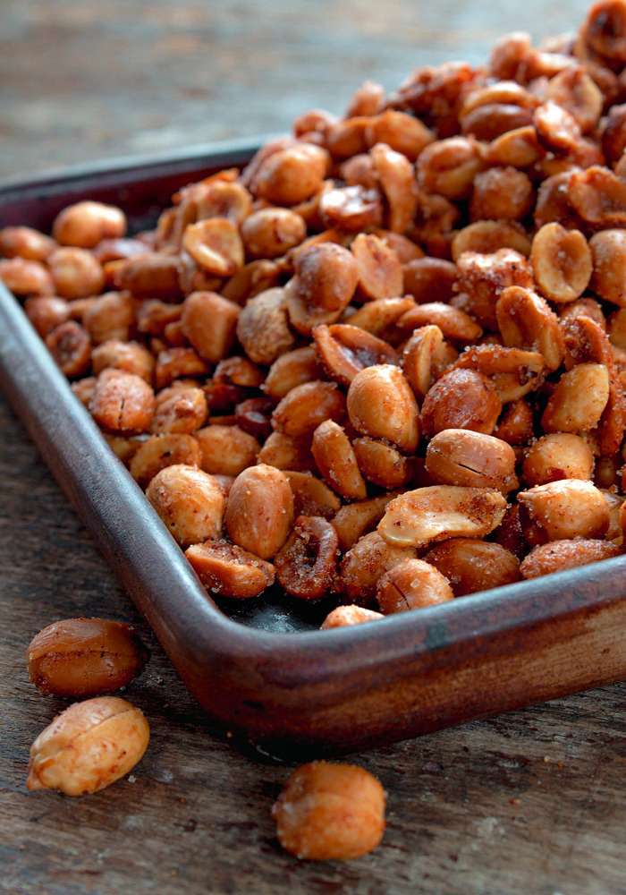 Spiced Peanut Snack