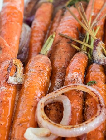 Roasted Brown Butter Carrots
