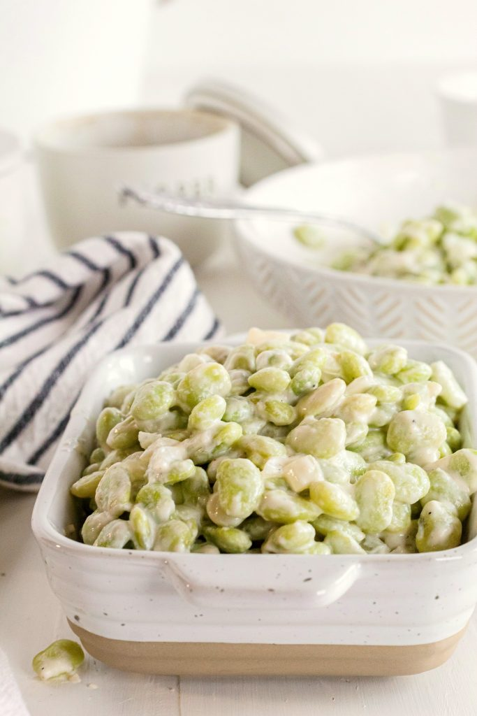 Creamed Lima Beans