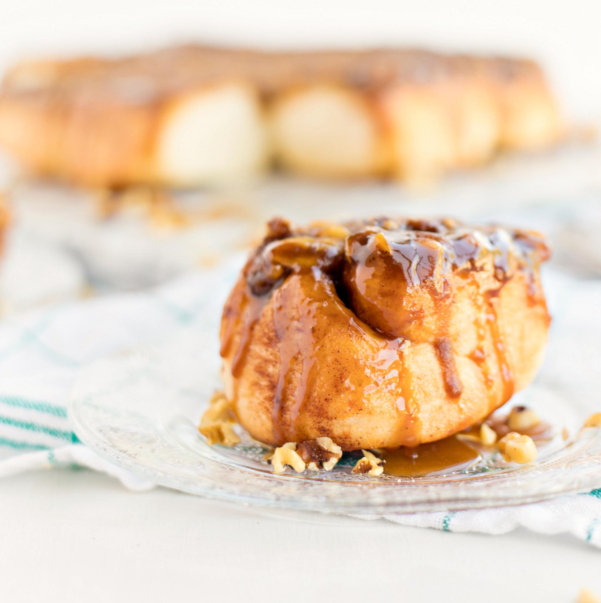sticky buns with pillsbury cinnamon rolls