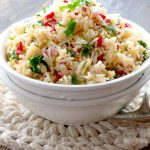 Lemon Rice Salad
