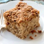 Banana Pecan Coffee Cake