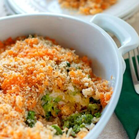 Rotisserie Chicken Broccoli Rice Casserole