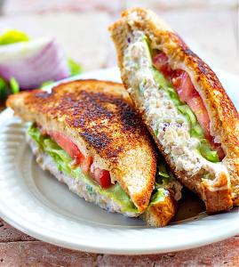 Chicken Salad Melt Sandwich