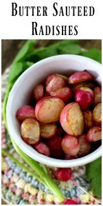 Butter Sauteed Radishes