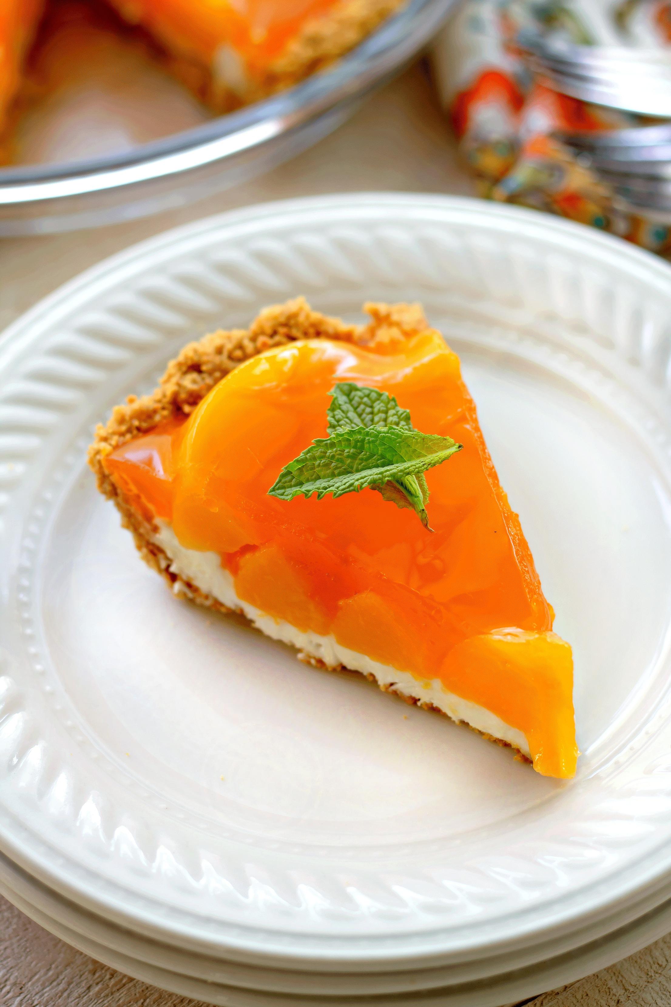 Creamy Peach Pie