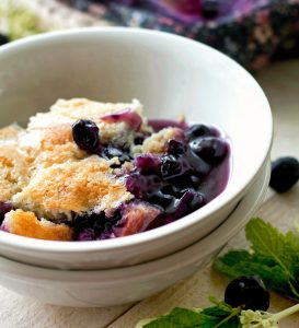 Blueberry Pudding Cake