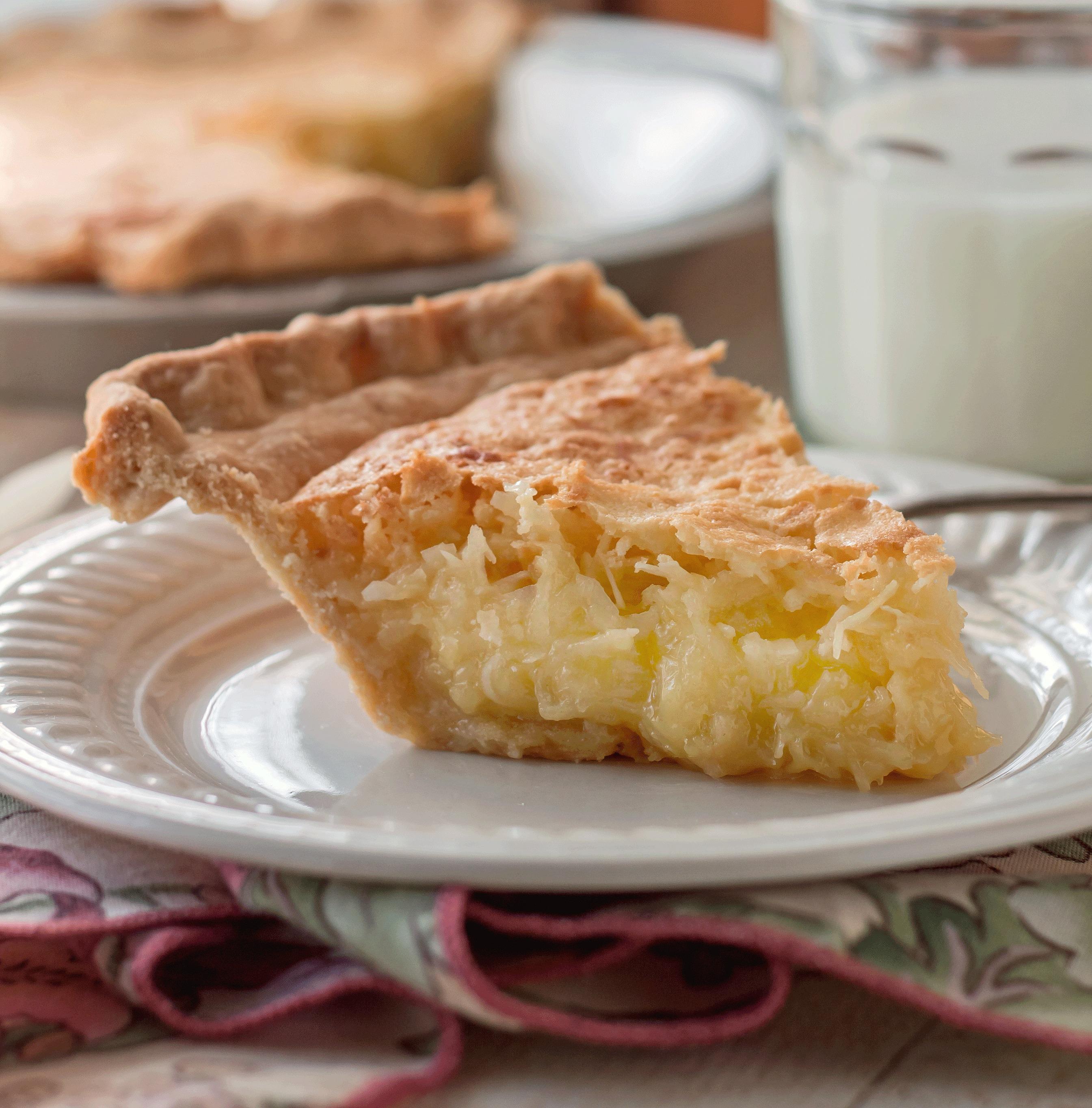 French Coconut Pie (Trisha Yearwood Recipe)