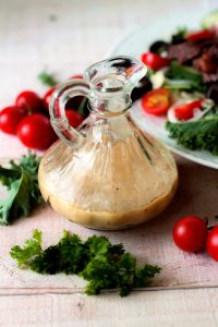 Mustard Vinaigrette Salad Dressing
