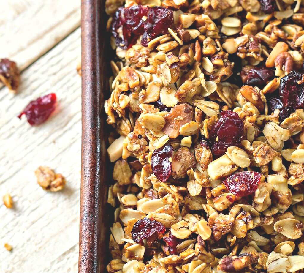 Cranberry Orane Granola