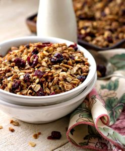 Cranberry Orange Granola
