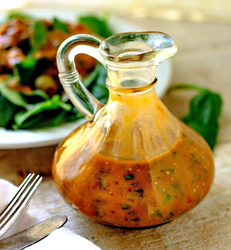 tomato and basil dressing