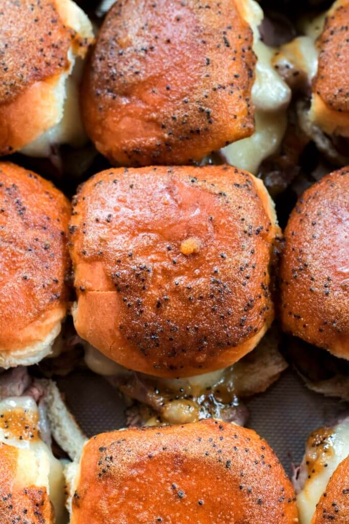 Roast Beef and Swiss Cheese Sliders