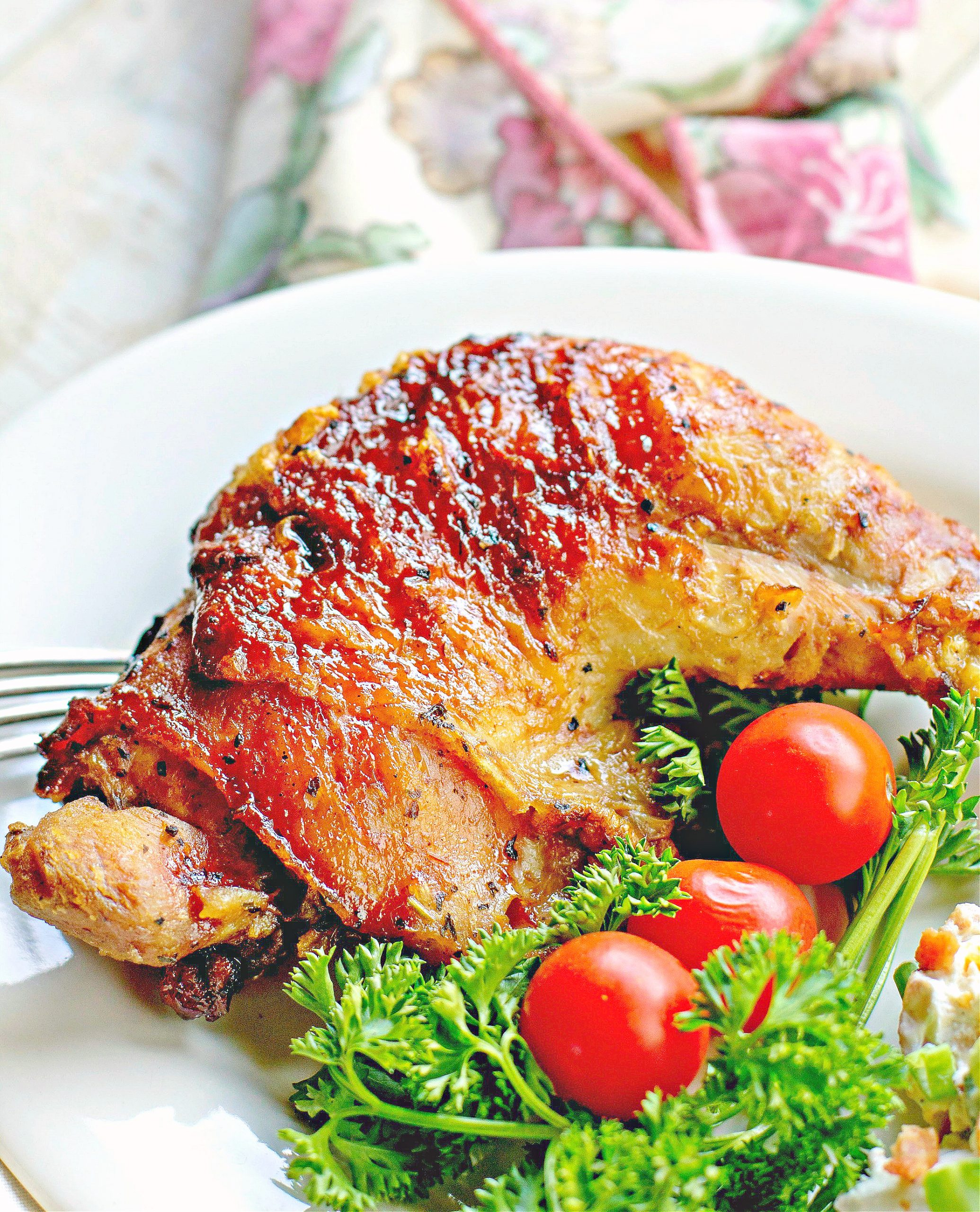 Barbequed Chicken Leg Quarters