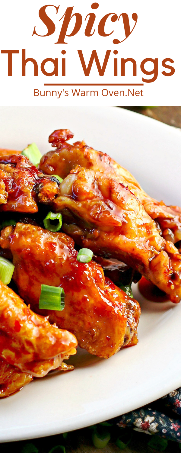 Spicy Thai Wings