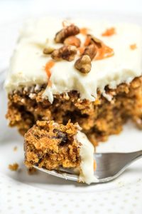 The Best Carrot Cake Ever with Cream Cheese Frosting